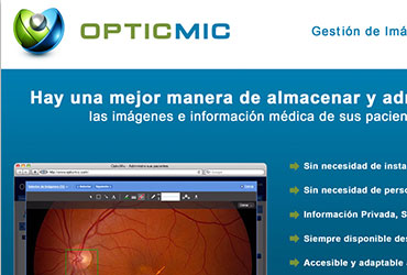OpticMic - Folletería Comercial